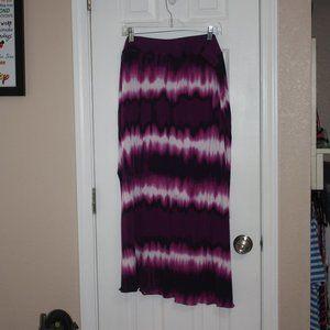 2XL Purple Tie Dye Skirt